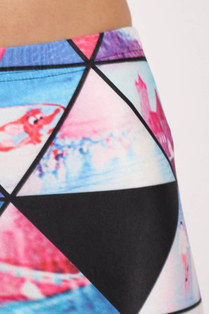Geometric Print Leggings 3