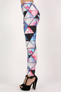 Geometric Print Leggings 4