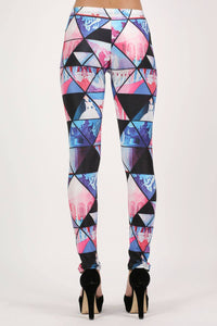 Geometric Print Leggings 5