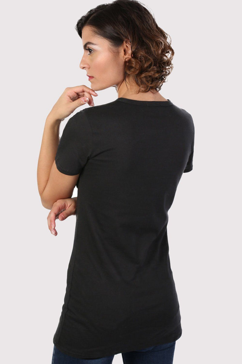 Guilty Graphic Print T-Shirt in Black 2