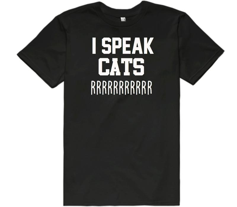i speak cats rrr t-shirt - Shirtoopia
