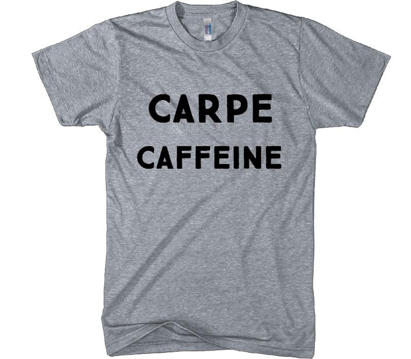 CARPE CAFFEINE t-shirt - Shirtoopia