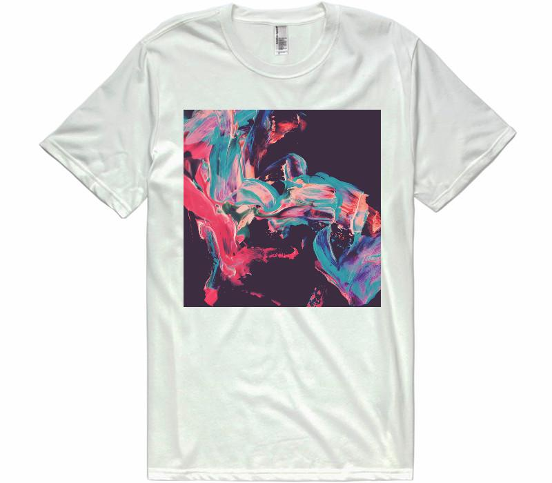 Flowing color t-shirt - Shirtoopia