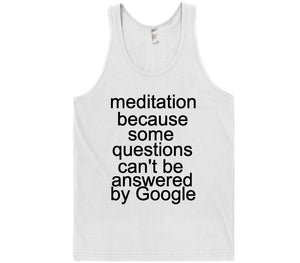 meditation t-shirt - Shirtoopia