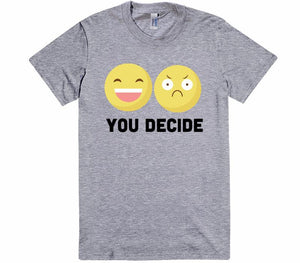 you decide emoji vintage t-shirt - Shirtoopia