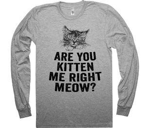 are you kitten me right meow shirt - Shirtoopia