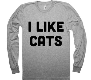 I LIKE CATS t-shirt - Shirtoopia