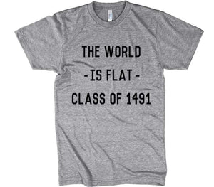 THE WORLD IS FLAT 1491 T-shirt - Shirtoopia