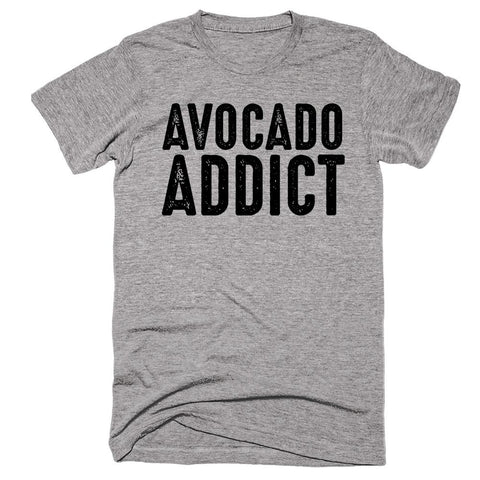 Avocado Addict T-shirt - Shirtoopia