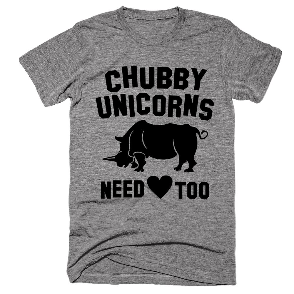 Chubby Unicorns Need Love Too