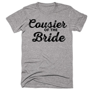 Cousier Of The Bride T-shirt - Shirtoopia