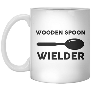 Wooden Spoon Wielder MUG - Shirtoopia