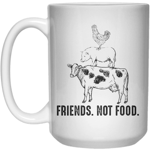 Friend. Not Food. MUG  Mug - 15oz - Shirtoopia