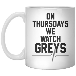 On Thursdays We Watch Greys - Shirtoopia