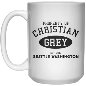Property Of Christian Grey MUG  Mug - 15oz - Shirtoopia