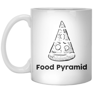 Food Pyramid. MUG - Shirtoopia