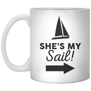 She's My Sail!. MUG - Shirtoopia