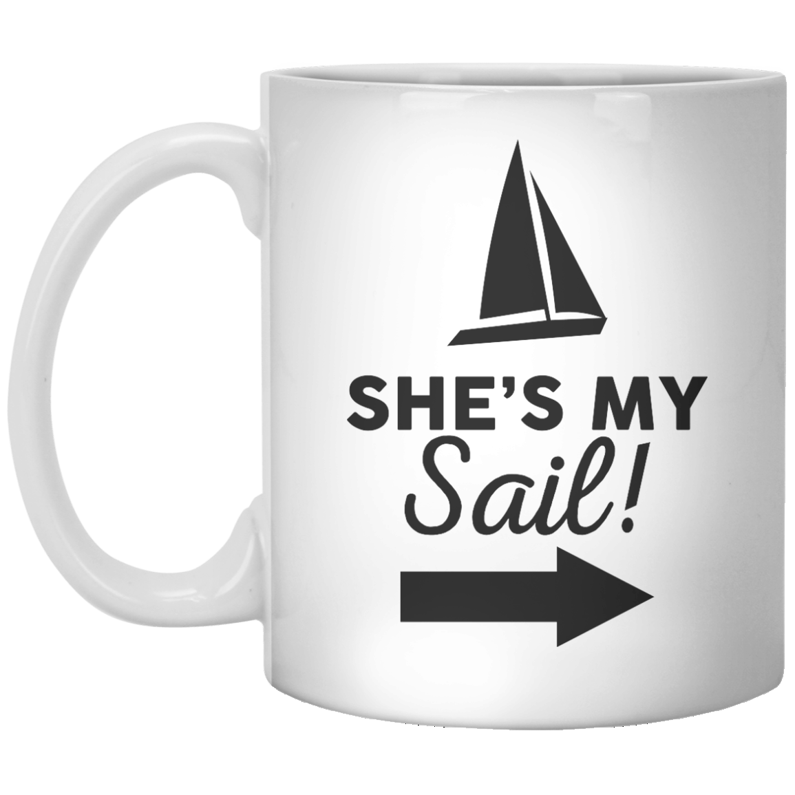 She's My Sail! II T-Shir - Shirtoopia
