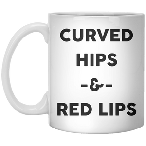 Curved hips and red lips - Shirtoopia