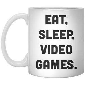 Eat Sleep Video Games MUG - Shirtoopia