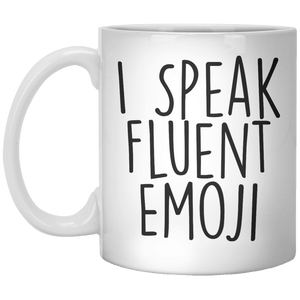 I Speak Fluent Emoji MUG - Shirtoopia