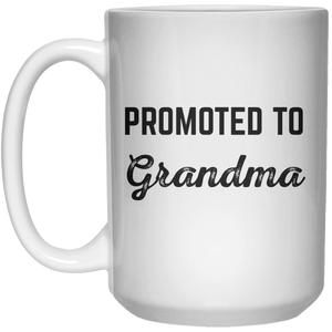 promoted to grandma MUG  Mug - 15oz - Shirtoopia