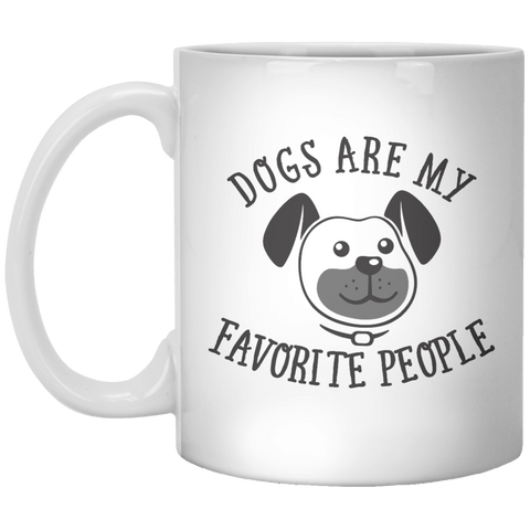 Dog Are My favorite People MUG