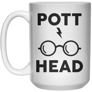 Pott Head  Mug - 15oz - Shirtoopia