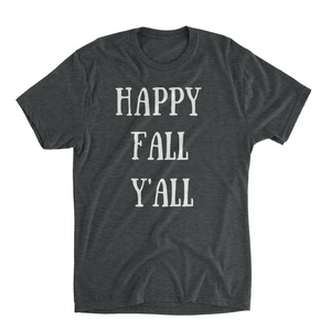 Happy Fall Yall Shirt