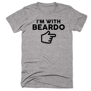 I'm With Beardo T-shirt - Shirtoopia