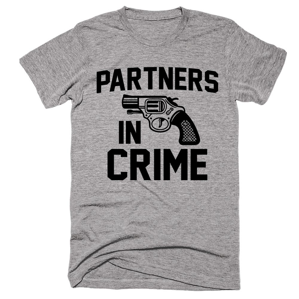 Partners In Crime II T-shirt - Shirtoopia
