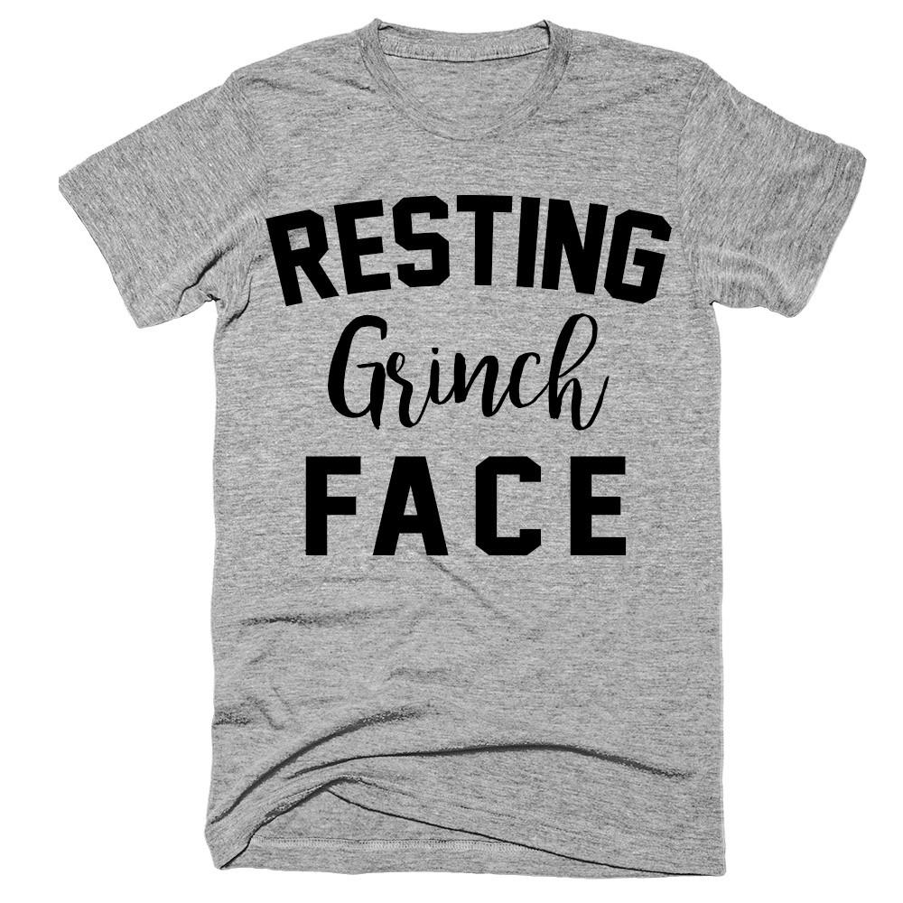 Resting Grinch face t-shirt - Shirtoopia