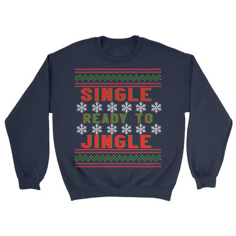 funny single christmas sweater