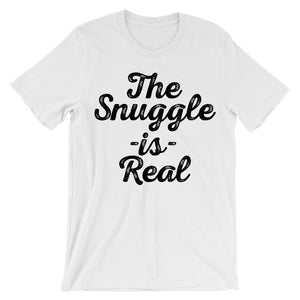 The Snuggle Is Real Vintage Design T-Shirt - Shirtoopia
