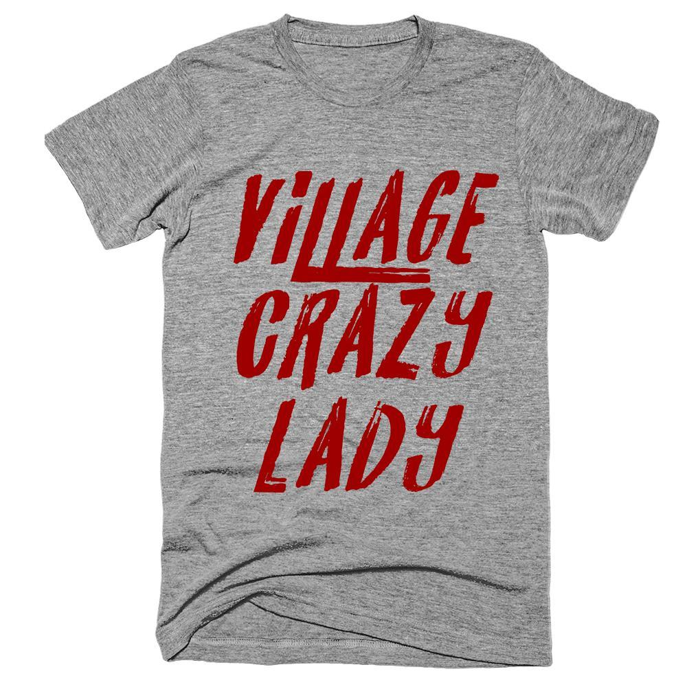 Village Crazy Lady T-Shirt