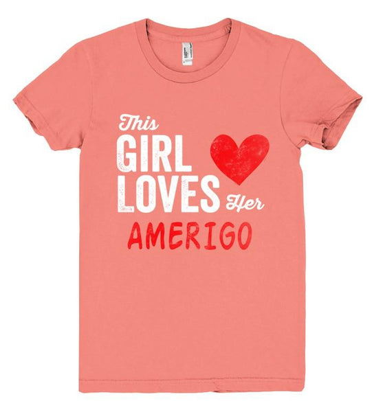 This Girl Loves her AMERIGO Personalized T-Shirt - Shirtoopia