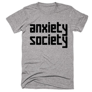 anxiety society t-shirt - Shirtoopia