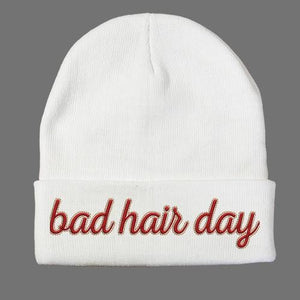 Bad Hair Day Beanie - Shirtoopia
