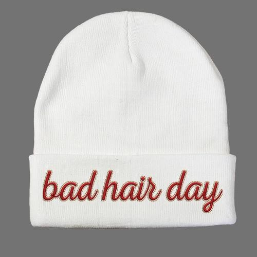 Bad Hair Day Beanie  - 1
