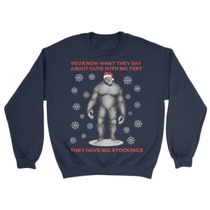 bigfoot ugly sweater
