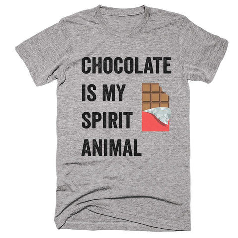 Chocolate is my Spirit Animal T-Shirt