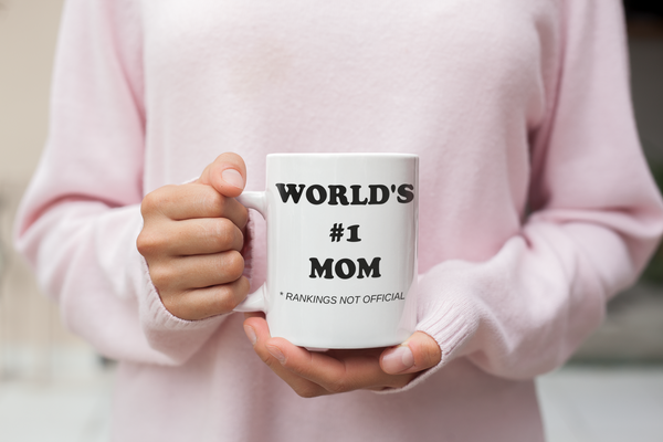 World's #1 Mom Coffee Mug