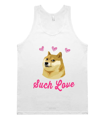 such love doge tank top - Shirtoopia