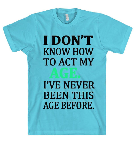 I DON'T KNOW T-SHIRT - Shirtoopia