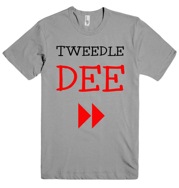 TWEEDLE DEE t-shirt - Shirtoopia