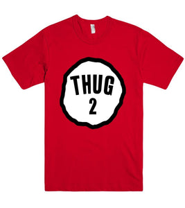 thug two shirt - Shirtoopia