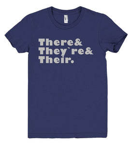 There& They`re& Their tshirt - Shirtoopia