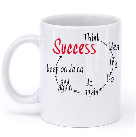 think to saccess mug - Shirtoopia