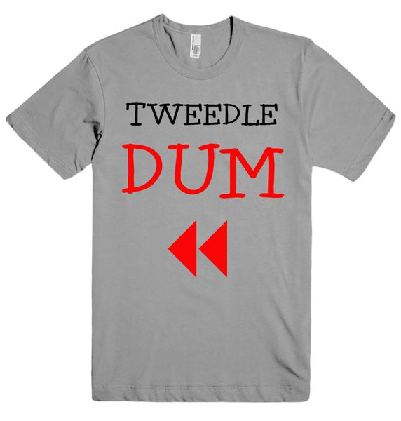TWEEDLE DUM t-shirt - Shirtoopia