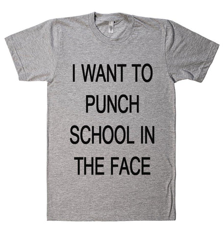 I WANT TO PUNCH t-shirt - Shirtoopia